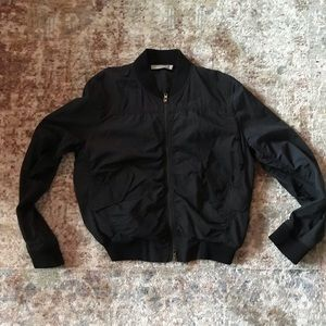 Vince women's shrunken bomber jacket